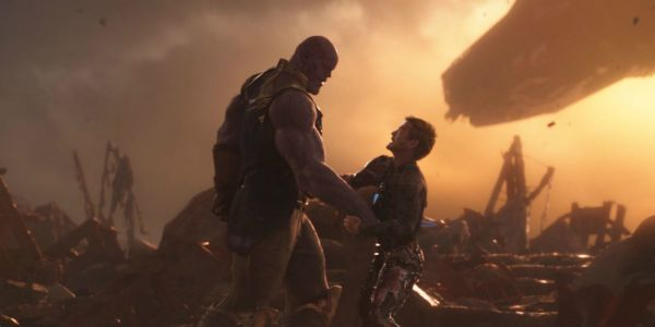 Infinity War Fan Discovers Thanos Scene Parallel With First Iron Man Movie