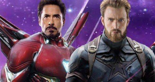 RDJ Delves Into Iron Man & Captain America's Infinity