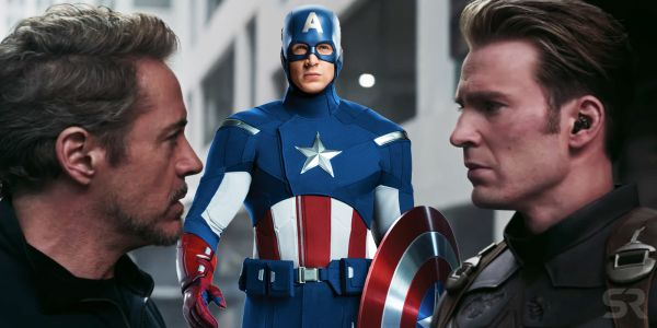 RDJ & Chris Evans Make Fun of Captain America's Avengers Costume