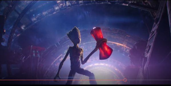 How was Groot able to lift Thor's hammer?