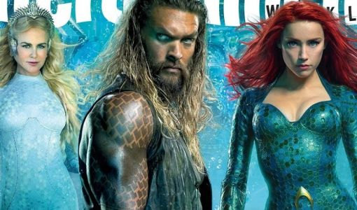 Jason Momoa Surfaces as Aquaman on the Cover of EW