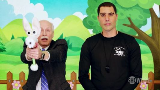 This New Clip From Sacha Baron Cohen's WHO IS AMERICA? Will Melt Your Brain