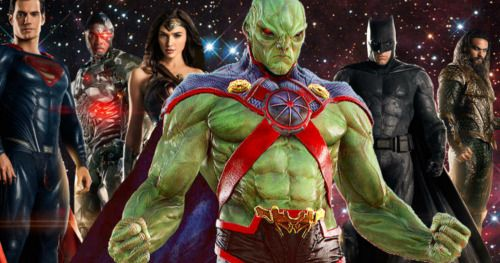 Martian Manhunter Teased in the Latest ReleaseTheSnyderCut