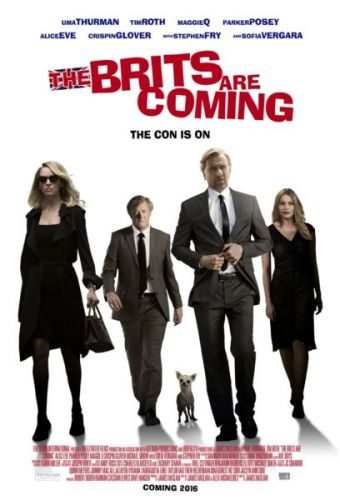 The Brits Are Coming Movie starring Uma Thurman and Tim Roth