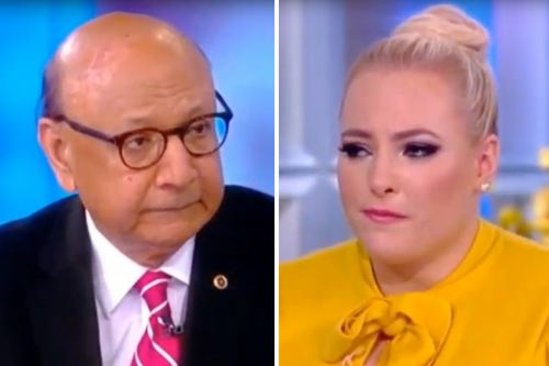 """Meghan McCain Brought to Tears by Gold Star Father Khizr Khan: Trump Attacks are """"Horrific"""""""