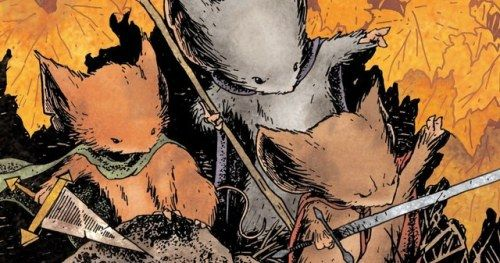 Disney Flushes Fox's Mouse Guard Just Weeks Before