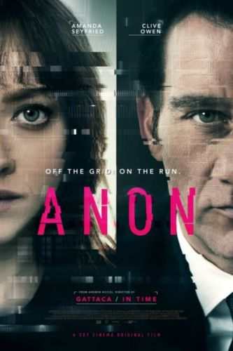 Poster of Anon starring Amanda Seyfried