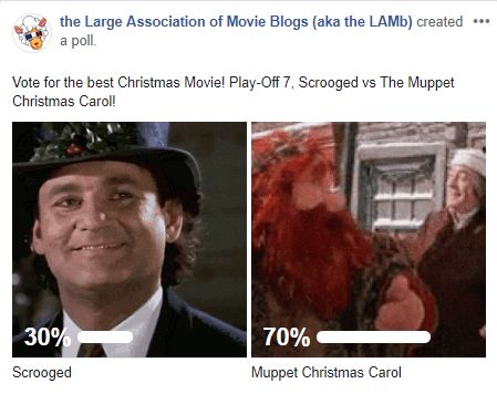 LAMBracket: Best Christmas Movie Play-Off 7 Results