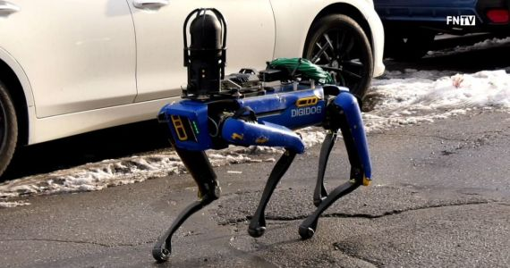NYPD's Robot Police Dog Viral Video Draws Comparisons to RoboCop & Black Mirror