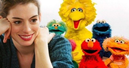 Sesame Street Movie Wants Anne Hathaway in the LeadAcademy Award