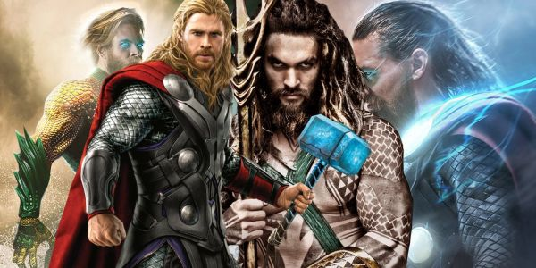 Chris Hemsworth Is Aquaman & Jason Momoa Is Thor In New Fan Art