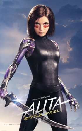 Alita Battle Angel Movie - Character Posters