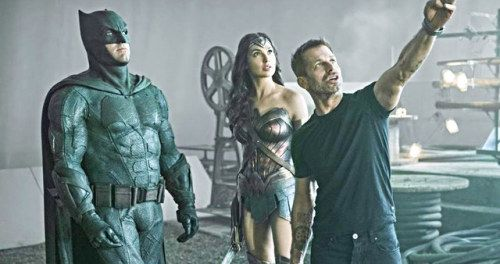 Zack Snyder Shot Enough Justice League Footage for 2 MoviesRay