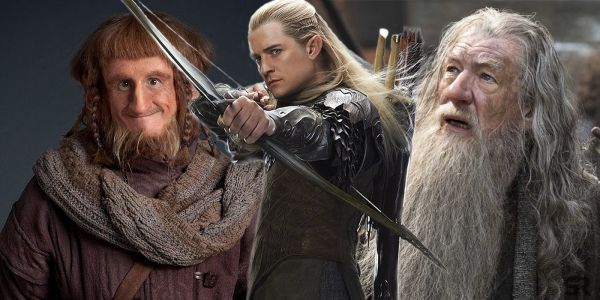 Lord of the Rings Stars Orlando Bloom & Ian McKellen Have Mini Reunion