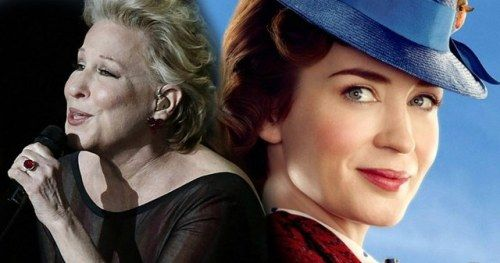 Bette Midler Will Perform Mary Poppins Returns Song During the