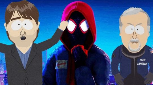 Tom Cruise and James Cameron Were Almost in 'Spider-Man: Into the Spider-Verse'