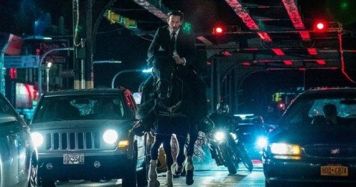 Official John Wick 3 Photo Has Keanu Reeves on a Horse Chase in