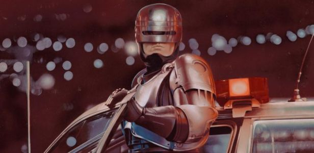 Exclusive: The Original 'RoboCop' Poster Was Actually a Painting, and Now You Can Buy It As a Metallic Print