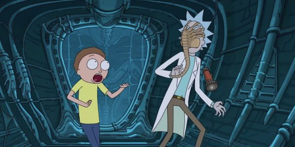 Rick And Morty's Alien: Covenant Parody Provides Easy Solution To Facehuggers