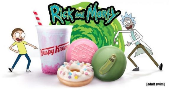 Krispy Kreme Is Releasing 'Rick and Morty' Doughnuts, But You'll Have a Hard Time Getting Them