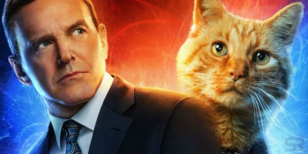 Captain Marvel Fan Posters Replace Everyone With Goose the Cat & Coulson