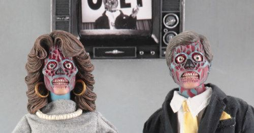 John Carpenter's They Live 8-Inch Clothed Figures from