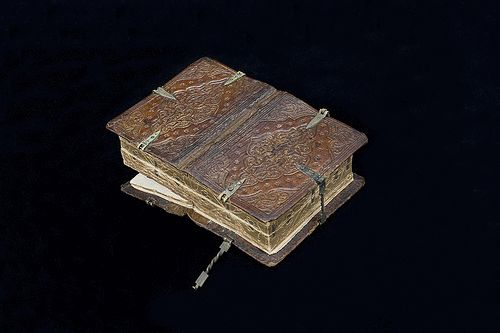 A Medieval Book That Opens Six Different Ways, Revealing Six Different Books in One