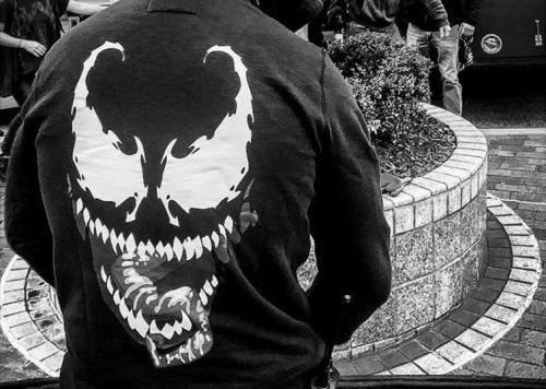 First Look at Tom Hardy as Eddie Brock in Venom