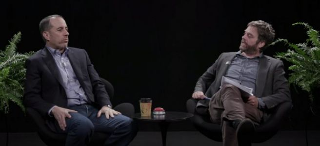 A 'Between Two Ferns' Movie is Secretly Already Filming, and Nothing Makes Sense Anymore