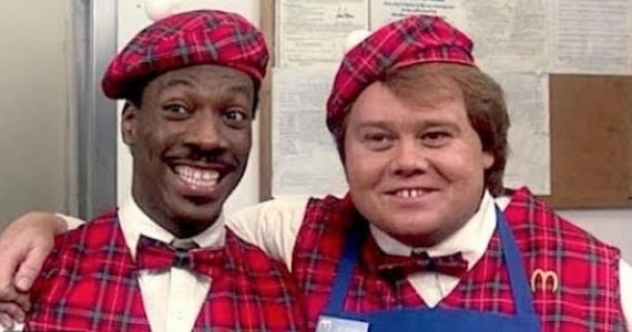 Eddie Murphy Claims He Was Forced to Cast Louie Anderson in Coming to America