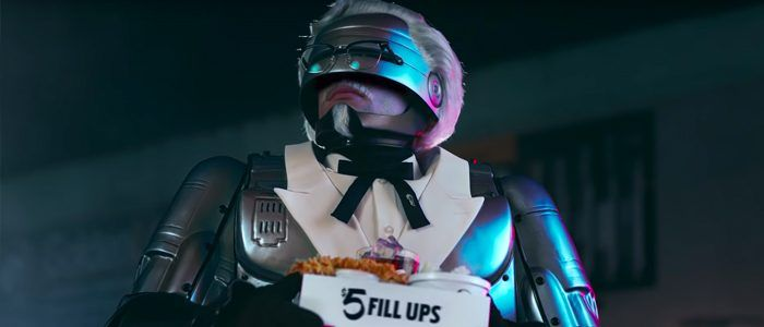 Peter Weller Reprises His 'RoboCop' Role in Bizarre KFC Ads