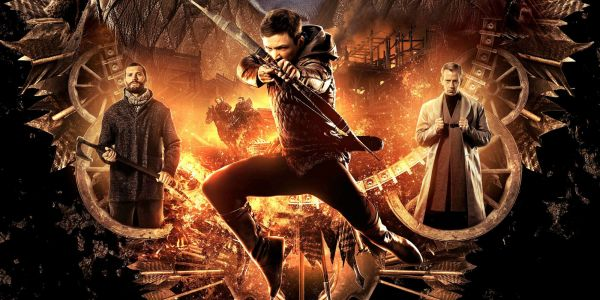 Review: Taron Egerton and Jamie Foxx headline a radicalized 'Robin Hood'