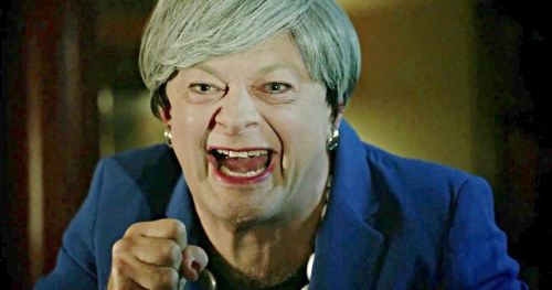 Andy Serkis Brings Out Gollum to Troll Theresa May's