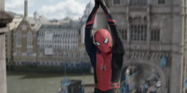 Spider-Man: Far From Home Image Offers Best Look At New Red & Black Suit