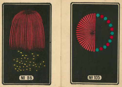 Hundreds of Wonderful Japanese Firework Designs from the Early-1900s: Digitized and Free to Download