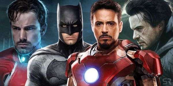 What Ben Affleck As Iron Man & Robert Downey Jr. As Batman Could Look Like