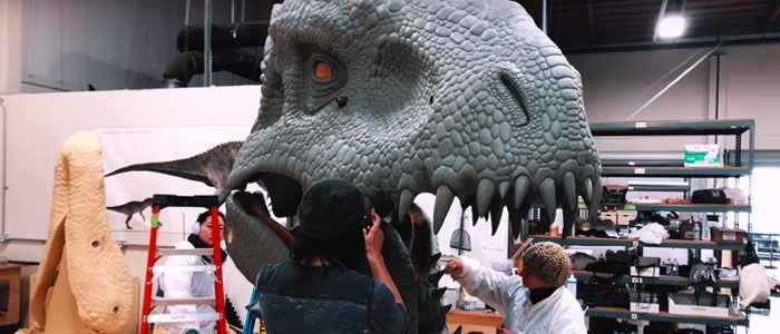 Video: The Making of 'Jurassic World: The Ride'