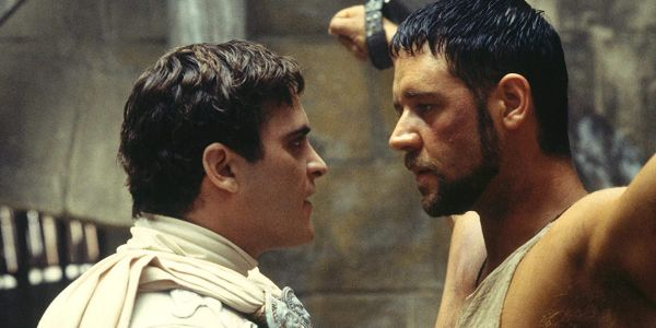 Joaquin Phoenix Really Bonded With Gladiator's Russell Crowe After River Phoenix's Death