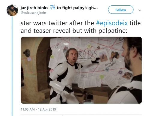 The Internet's Best Reactions To Star Wars: Episode IX Title - The Rise Of Skywalker