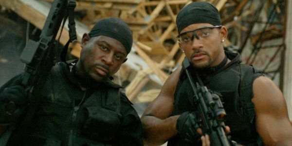 Will Smith & Martin Lawrence Reunite in Bad Boys 3 Set Photo
