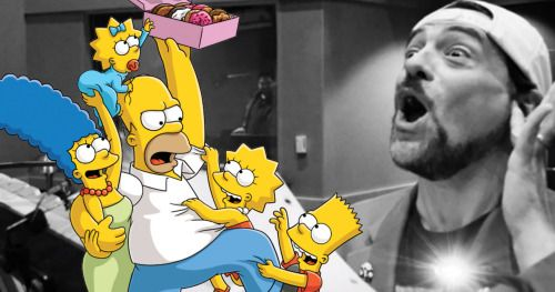 Kevin Smith Is Appearing on The Simpsons as Himself, and of