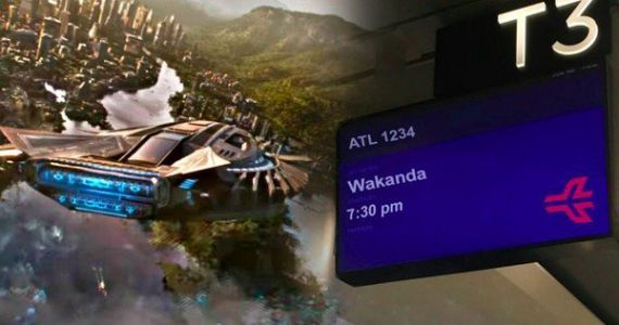 ATL Airport Has Black Panther Flights Departing for Wakanda