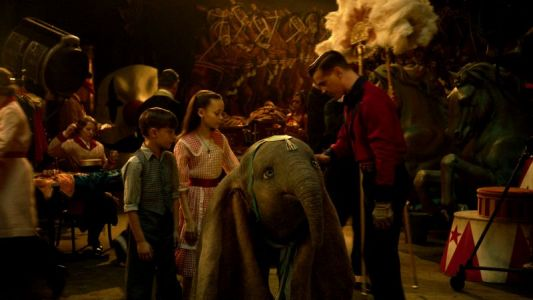 From the Set: Dumbo Cast Talks Interacting with the Flying Elephant