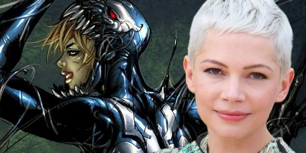 Venom Set Video Gives First Look At Michelle Williams