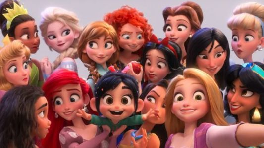 RALPH BREAKS THE INTERNET: Persistence of the Princesses