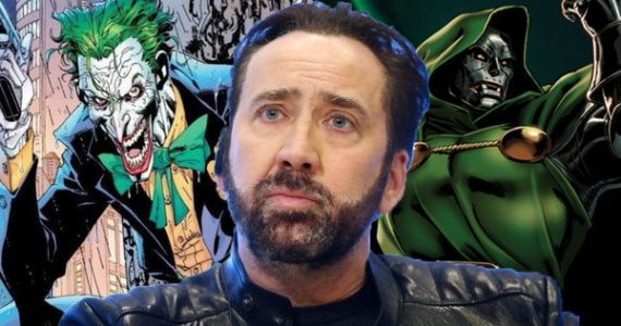 Nicolas Cage Thinks He'd Make a Perfect Joker or Doctor Doom