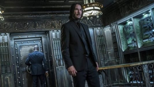 New JOHN WICK: CHAPTER 3 Trailer Has Headshots, Horses & A Dog Attacking A Guy's Junk
