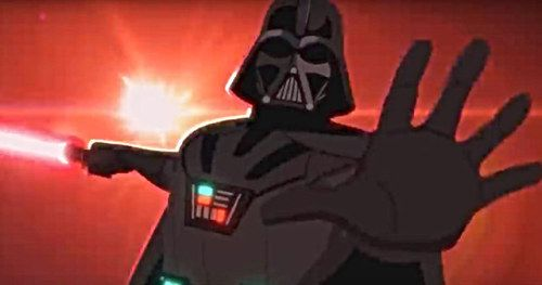 Darth Vader's Big Rogue One Scene Gets Animated in New