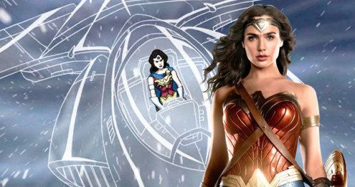 Wonder Woman 1984 Set Video Hints at the Invisible JetA new set