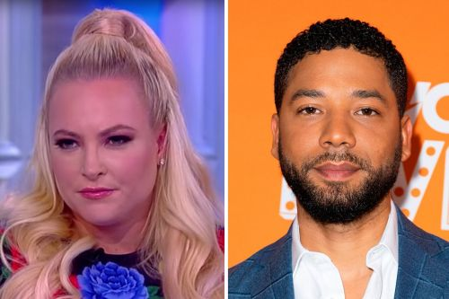 """'The View's Panel Agrees Jussie Smollett Controversy """"Backfired Big Time on Him"""""""